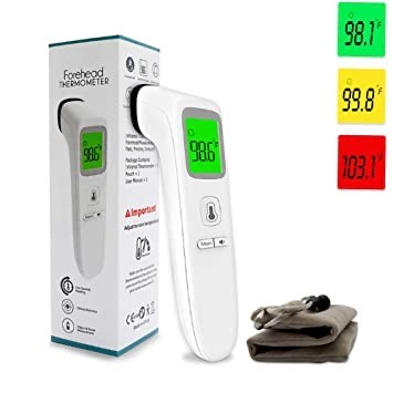 Touch less thermometer