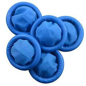 Blue Finger Cots