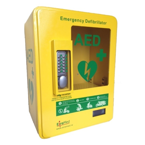 Outdoor Heated Aed Cabinet Eiremed