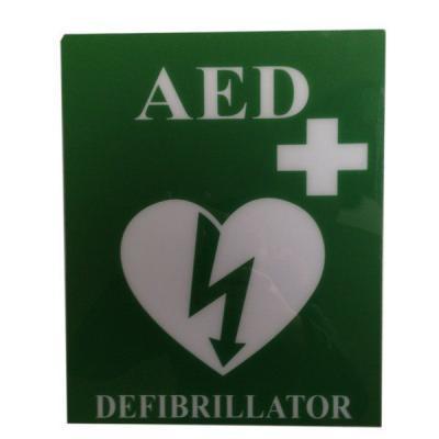 PVC AED SIGN
