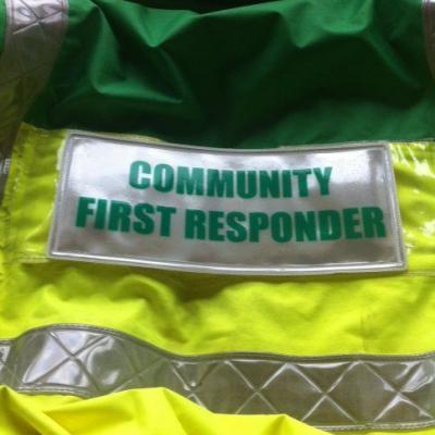 Community First Responder Badge Large