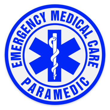 Car Window Sticker - Emergency Medical Care Paramedic