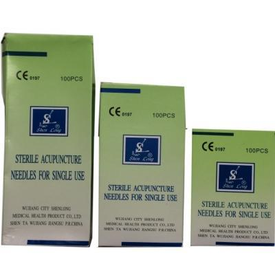 Acupuncture Needles with Tube 25 mm
