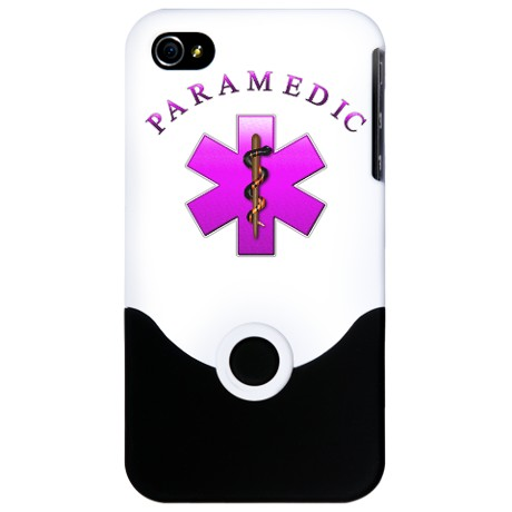 IPhone 4 Pink Paramedic Cover