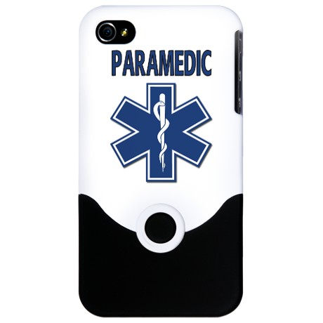 IPhone 4 Blue Paramedic Cover