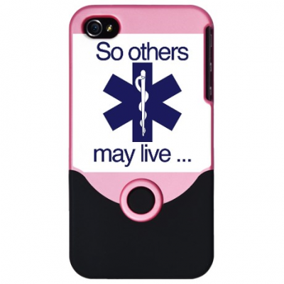 "IPhone 4/4s Pink ""So Others May Live"""