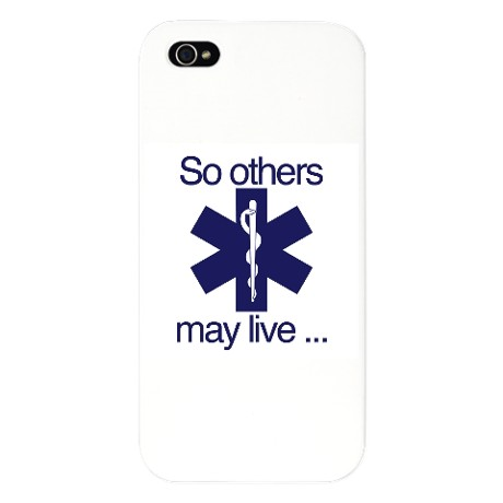 "IPhone 4/4s Blue ""So Others May Live"""