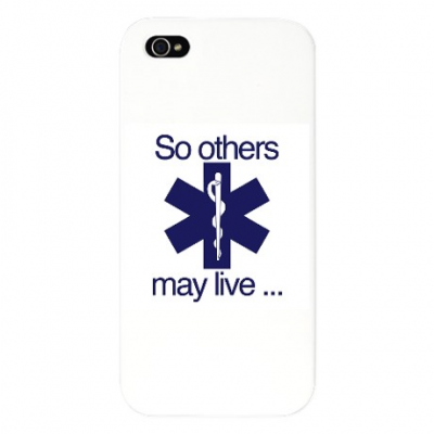 "IPhone 5 Blue ""So Others May Live"""