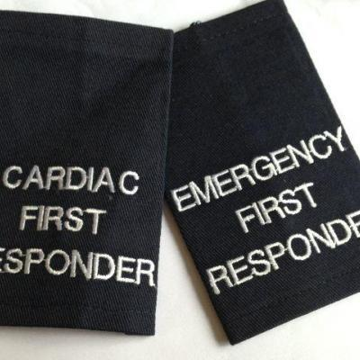 Epaulettes Cardiac First Responder - Navy