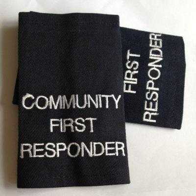 Epaulettes Community First Responder - Navy