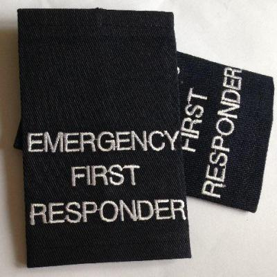 Epaulettes Emergency First Responder - Navy