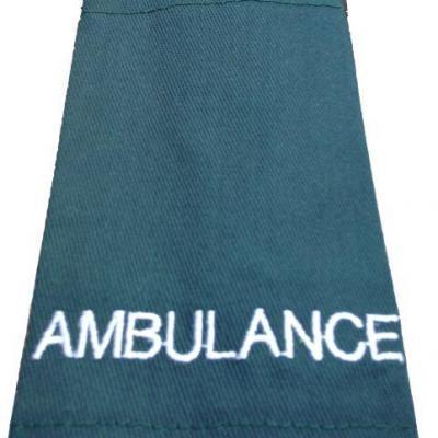 Epaulettes Ambulance - Green