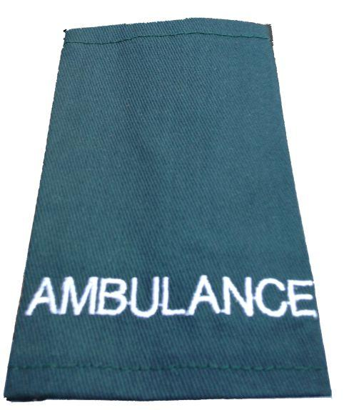 Epaulettes Ambulance - Green