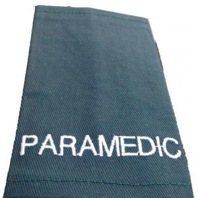 Epaulettes Paramedic - Green