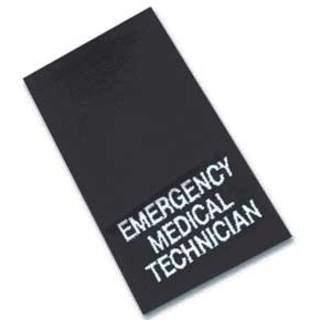 Epaulettes Emergency Medical Technician - Navy