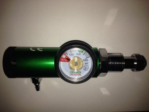 Bullnose Oxygen Regulator