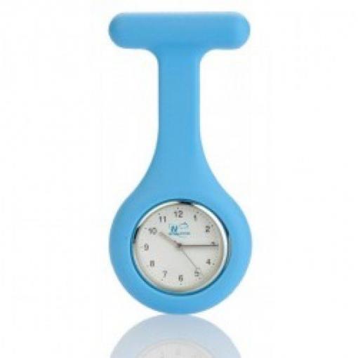 Fob Watch Baby Blue