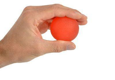 Hand Exerciser Squeeze Ball - Soft Red