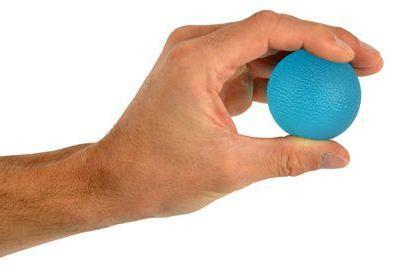 Hand Exerciser Squeeze Ball - Firm Blue