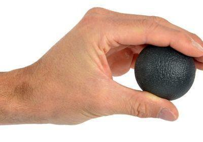 Hand Exerciser Squeeze Ball - Extra Firm Black