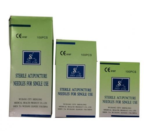 Acupuncture Needles with Tube 75mm
