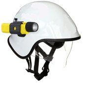 EMS Helmet with Integrated Visor