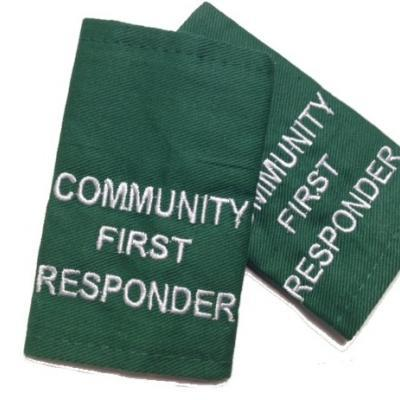 Epaulettes Community First Responder - Green
