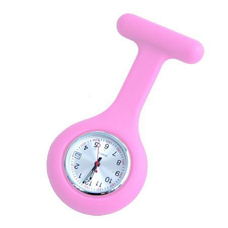 Fob Watch Baby Pink