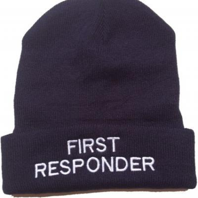 Beanie Woolly Hat - Navy