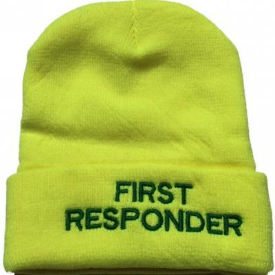 Beanie Woolly Hat - Hi Vis Yellow