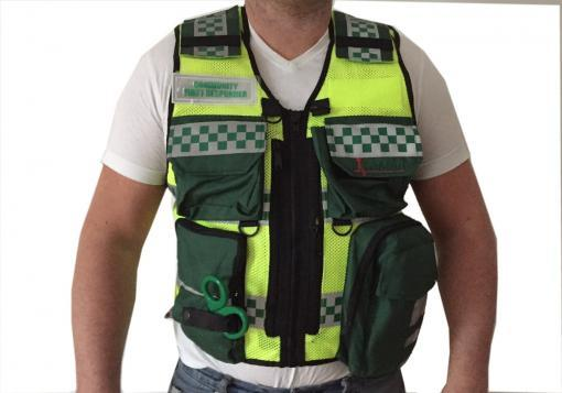 Tactical First Responder Vest
