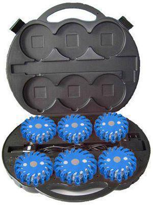 Rechargeable Flare Blue 6 Pack- Blue (6 Pack)