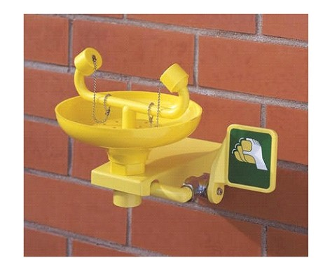 Emergency Eye Wash Station Wall Mounted
