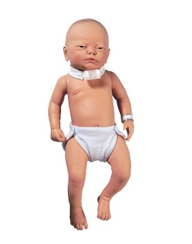 Infant Tracheotomy Care Training Manikin