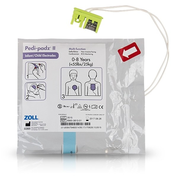 Zoll AED Plus Live Paediatric Pads