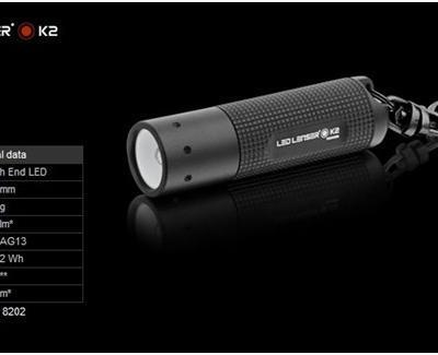LED Lenser K2 BLACK