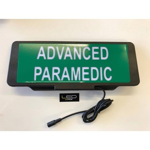 Illuminated LED Univisor - Paramedic