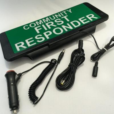 Illuminated LED Univisor - Community First Responder