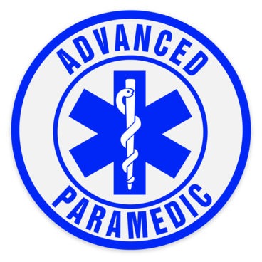Car Window Sticker - Advanced  Paramedic