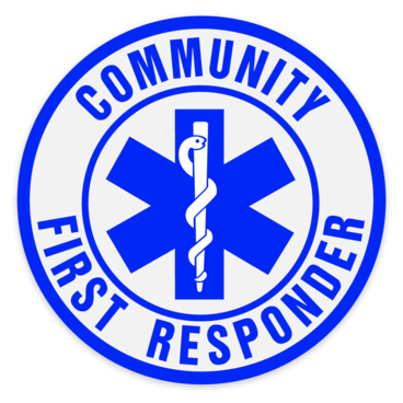 Car Window Sticker - Community First Responder