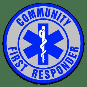Car Window Sticker - Community First Responder