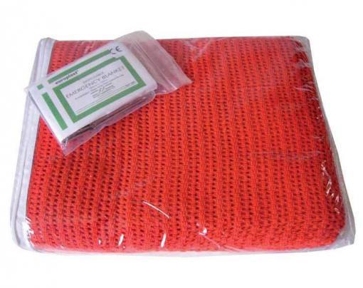 Red Ambulance Blanket