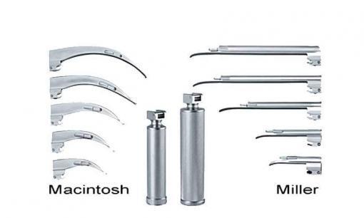 Re-Useable Laryngoscope Handle