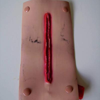 Lacerated Forearm Bleeding Moulage