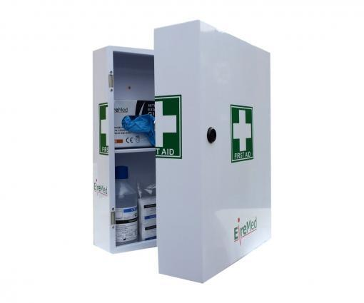 Large Steel First Aid Cabinet