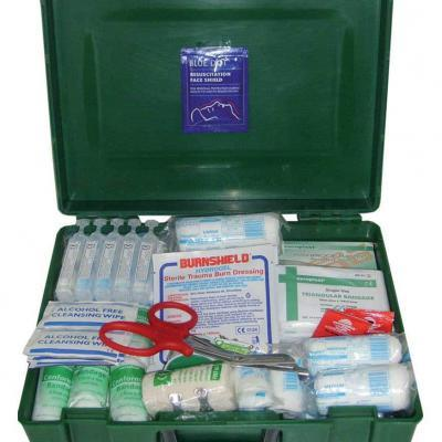 Premier Medium Kitted First Aid Box