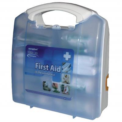 Small Catering Wall Mounted First Aid Box Kitted
