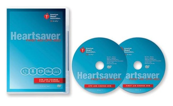 Heartsaver First Aid/CPR/AED Instructional DVD 2015 Guidelines