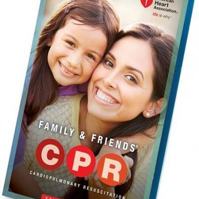 NEW 2015 AHA CPR for F & F Student Text