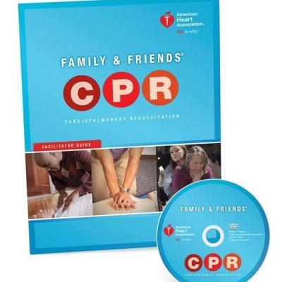 NEW 2015 AHA CPR for Family & Friends DVD